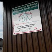 Photo prise au Les Béolles - Boucherie - Charcuterie à la ferme par Pierre Y. le5/15/2014
