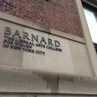 Photo taken at Barnard College by Kylee P. on 2/8/2013
