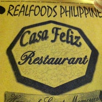 Photo taken at Casa Feliz by Armi P. on 12/20/2014