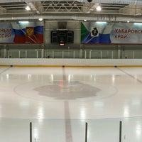 Photo taken at Хоккейный центр Амур by Dmitry Z. on 2/25/2017
