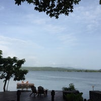 Photo taken at Jicaro Island Ecolodge by Maria C. on 8/13/2015