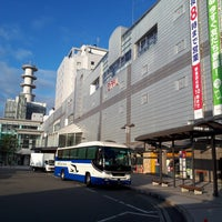 Photo taken at 山形駅バスターミナル by Toshiaki I. on 7/25/2017