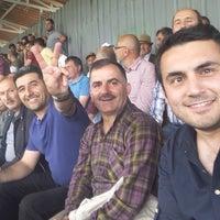 Photo taken at Eynesil İlçe Stadı by Mustafa K. on 6/18/2017