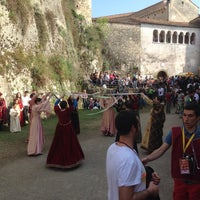 Photo taken at Castello Malaspina by Vitaliya A. on 4/26/2014