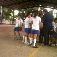Photo taken at Escuela Primaria Lazaro Cardenas by Brenda I. on 11/22/2012