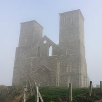 Photo taken at Reculver Towers and Roman Fort by Anthony H. on 1/22/2017