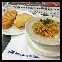 Photo taken at Mabuhay Lounge by Maricris E. on 7/1/2013