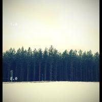 Снимок сделан в Пропускной пункт Иматра пользователем Tigra✨ 2/2/2013
