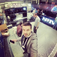 Photo taken at NPTV Stand by Maxim D. on 9/11/2013
