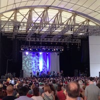Photo taken at Blue Hills Bank Pavilion by Alaine H. on 6/24/2013
