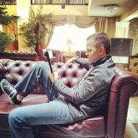 Photo taken at Desalegn Hotel by Casey P. on 10/1/2012