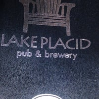Photo taken at Lake Placid Pub & Brewery by Suzanne H. on 7/19/2013