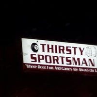 Photo taken at The Thirsty Sportsman by Tamara M. on 3/15/2014