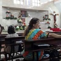 Photo taken at Gereja Katolik Salib Suci by Leo N. on 4/19/2014