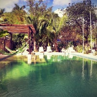 Photo taken at Nomadas hostel by Martin L. on 2/20/2013