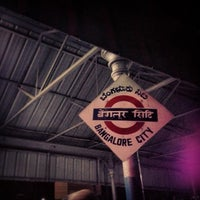Photo taken at Bangalore City Junction Railway Station by Irene M. on 12/30/2012