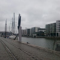 Photo taken at Hammarby Kaj 18 by Björn H. on 3/23/2015
