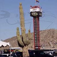 Photo taken at Phoenix International Raceway by Walter A. on 11/7/2013