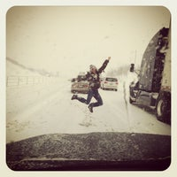 Photo taken at I-94 & Friday Rd by Darcy on 2/2/2013