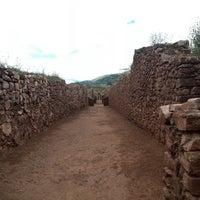 Photo taken at Ruinas Piquillaqtay by Josue M. on 4/1/2014