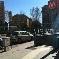 Photo taken at Piazza Bologna by flOra K. on 2/4/2013