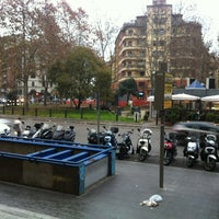 Photo taken at Piazza Bologna by flOra K. on 1/10/2013