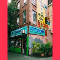 Photo taken at Icy Signs by Steve B. on 10/4/2014
