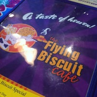 Photo taken at The Flying Biscuit Cafe by Meghan S. on 12/30/2012