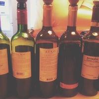 Photo taken at Evín Wine store & bar by Remy V. on 3/20/2014
