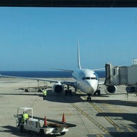 Photo taken at Aeropuerto de Fuerteventura (FUE) by Inés B. on 12/29/2012