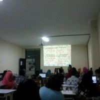 Photo taken at Perpustakaan Pusat UB by Annisa N. on 12/20/2012