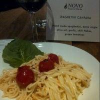 Photo taken at Novo Pizzeria & Wine Bar by Dawn s. on 1/14/2013