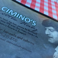 Photo taken at Ciminos by Hannah C. on 8/13/2016