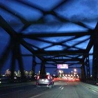 Photo taken at Maurice J. Tobin Memorial Bridge by Keith V. on 1/14/2013