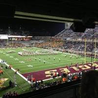 Photo taken at Alumni Stadium by Keith V. on 11/11/2012