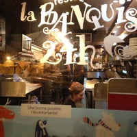 Photo taken at La Banquise by Mitchum B. on 10/28/2012