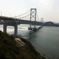 Photo taken at Onaruto Bridge by 猛虎参號 on 3/30/2013
