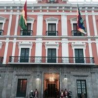 Photo taken at Palacio de Gobierno by Gustavo A. on 10/14/2014