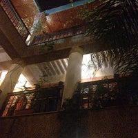 Photo taken at Jnane Mogador Hotel by Hiroki Y. on 3/8/2014