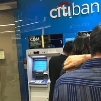 Photo taken at Citibank by Night C. on 7/27/2017