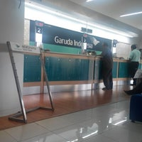 Photo taken at Garuda Indonesia Sales & Ticketing Office by Ade F. on 5/7/2014