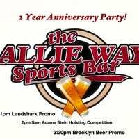 Photo taken at The Allie Way Sports Bar by SWANKY on 9/7/2013