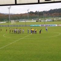 Photo taken at El Mundo del Fútbol by Sara K. on 1/3/2015