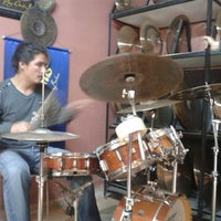 Photo taken at Bosphorus Cymbals by Wally G. on 3/28/2014