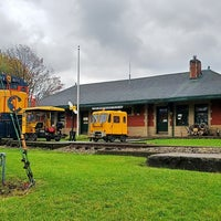 Photo taken at Lake Shore Railway Historical Museum by Ami H. on 10/30/2017