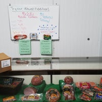 Photo taken at Smith Provision Co. (Smith's Hotdogs) by Ami H. on 3/13/2017