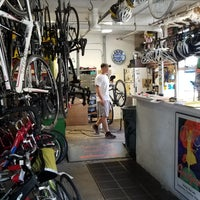 Photo taken at Chautauqua Bike Rent by Ami H. on 7/10/2017