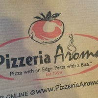 Photo taken at Pizzeria Aroma by Andy S. on 9/8/2016
