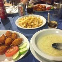 Photo taken at Zephyros Fish Tavern by Lianna P. on 8/25/2014