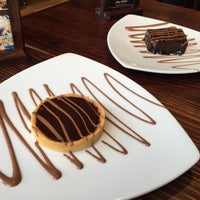 Photo taken at Max Brenner Chocolate Wollongong by Steve on 4/5/2015
